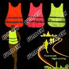 Outdoor Running Cycling Walking Safety High Visibility Reflective Vest Gear New