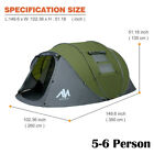 46-Person-Outdoor-Instant-Pop-Up-Portable-Tent-Double-Layer-Shelter-for-Camping