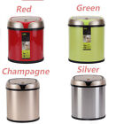 6L Stainless Steel Automatic Sensor Rubbish Bins Can Waste Office Kitchen Trash