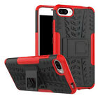 For Huawei Honor Shockproof Rugged Hybrid Armor Kickstand Rubber Case Cover
