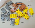 1 Inch Webbing High Quality 2-Color Matched YKK, DTX & KAM Side Release Buckles