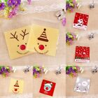 Внешний вид - 100PCS Self Adhesive Cookie Candy Package Gift Bags Cellophane Party Birthday