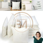 Square Hollow Fibre Cushion Pads Inners Fillers Inserts Sofa Bed Rug Cushions