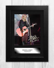 Miranda Lambert (1) A4 signed mounted photograph picture poster. Choice of frame