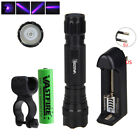 VASTFIRE UV Light 500LM XPE LED Flashlight Torch 1 Mode Camping Bike Lamp Mount
