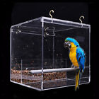 Внешний вид - No-Mess Bird Feeder Parrot Integrated Clear Feeder for Small to Large Birds