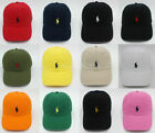 Polo Small Pony Baseball Cap Outdoor Sports Golf Baseball Hat NWT Unisex Cotton