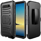 For Samsung Galaxy Note 8 Dual Layer Hybrid Holster Clip Stand Cover Case
