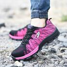 Mens Womens Safety Sneakers Shoes Work Steel Toe Cap Hiking Boots Breathable New