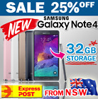 New Genuine Samsung Galaxy Note4 32gb Unlocked 4g Lte Au Warranty With Free Gift