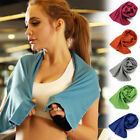 1/3/5Pcs Ice Cooling Towel For Sports/Workout/Fitness/Gym/Yoga/Pilates Towel image