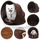 Pet Cat Dog Nest Bed Soft Warm Shell Cave Sleeping Bag Pet Supplies US Delivery
