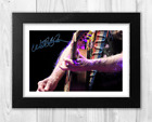 Willie Nelson (3) A4 signed landscape photograph picture poster. Choice of frame