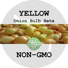 2018 Yellow Fall Onion Bulb Sets - NON-GMO! HEIRLOOM PLANTS, SEEDS. FREE SHIP!