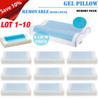 Memory Foam Pillow w/ Cooling Gel - Orthopedic Bed Pillow - Reversible LOT image