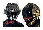 Daft Punk (1) A4 signed photograph picture poster. Choice of frame.