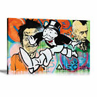 Alec Monopoly HD Print Oil Painting Art on Canvas Monopoly Running Unframed