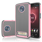 For Motorola Moto Z3/Z3 Play Phone Hybrid Rugged Rubber Hard Back New Case Cover
