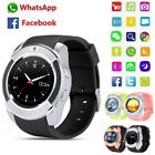BT3.0 Smart Wrist Watch GSM 2G SIM Phone Mate For IOS Android Smartphone USA