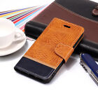 Crocodile Flip Wallet Leather Case Cover For Xiaomi A1 A2 8 F1 Redmi 6A Note 4X