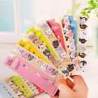 Kawaii Animal Cat Panda Sticky Notes Memo Pad School Supplies Planner Bookmarks