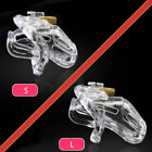 USA SHIP A370 Embedded Padlock Design Male Chastity Cage Device - Fast Shipping!