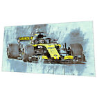 Renault Formula 1 Wall Art - Racing car Graphic Art Poster