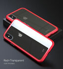 Phone Magnetic Metal Frame Tempered Glass Case Cover for iPhone 6 7 8 Plus X Lot