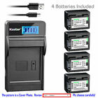 BP-718 CG-700 Battery or LCD Slim Charger for Canon VIXIA HF R60 R62 R70 R72