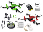 New Sky Wraith WiFi FPV Drone Bundle with Must Have Accessories -  23pcs Set