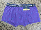 Polo RALPH LAUREN Purple All Over Pony Men's Boxer Briefs/TR