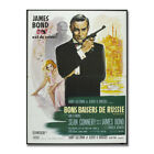 JAMES BOND 007 Hot Movie Art Canvas Poster 8x11 24x32 inches $10.82 CAD on eBay