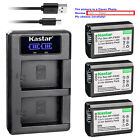 NP-FW50 Battery or LCD Charger for Sony ILCE-3000 Alpha a3000, SLT-A37, SLT-A55