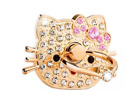 Hello Kitty 360° Universal Rotating Finger Ring Stand Holder For All Cell phones