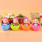12pcs Colorful Baby Girl Children Novelty Game Toy Twisted Egg Cute Doll for Kid