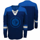 NHL Winnipeg Jets Perennial Long Sleeve Crew Jersey Shirt Top Youth Kids $36.2 USD on eBay