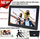"14"" High Definition Motion Sensor Digital Photo Frame MP3 Movie Player Memory"