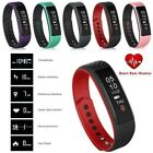 Men Smart Watch Heart Rate Pulse Meter Bluetooth Sport Silicone Band for Android