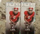 2 UGA Georgia Bulldogs vs Tennessee Volunteers Football Tickets *EMAIL DELIVERY*
