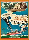 Steamboat Bill Jr     1920's Movie Posters Classic & Vintage Cinema