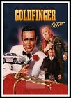Goldfinger 3 British Movie Posters Classic Vintage & Films £15.99 GBP on eBay