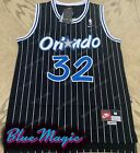 New Shaquille O'Neal Throwback Swingman Jersey STITCHED #32 Orlando Magic Mens on eBay