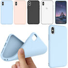 For iPhone X/XS Case Cute Silicone Matte Hybrid Rugged Slim Fitted Cover Skin