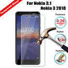 For Nokia 3.1 5.1 X6 6.1 7Plus 6 8 X6 Tempered Glass Screen Protector Film Guard