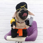 Pet Dog Warm Pig Monk Style Cosplay Costume with Hat Pet Clothes Apparel
