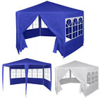 6.6'x6.6' Outdoor Canopy Wedding Party Tent Garden Gazebo Canopy with 6 Sidewall