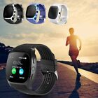 T8 Bluetooth Smart Watch Support SIM and TFcard Camera For iPhone Android iOS