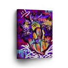 Colorful Modern Art of African Woman CANVAS PRINT Wall Art Home Decor