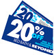 One BED BATH&BEYOND - 20% Off Coupon-Single Item - (In Store/Online)