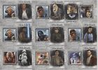 Topps Star Wars Masterwork 2018 POSTAGE STAMP RELIC /200 - Choose your Card! $6.99 USD on eBay
